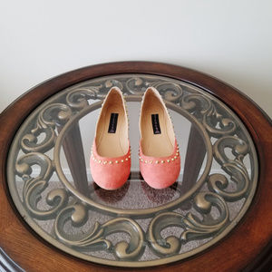 NWOT Steve Madden Studded Two-Tone Flat Shoes